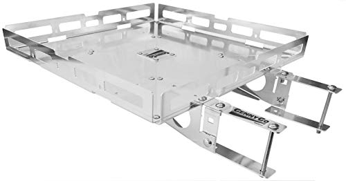 Mount-n-Lock GennyGo RV Bumper-Mounted Generator & Cargo Carrier Tray Kit (Aluminum)