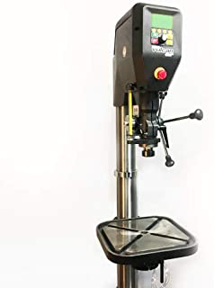 NOVA VULCAN DVR METAL WORKING VARIABLE SPEED DRILL PRESS WITH HYBRID MILL FUNCTION AND DOWNFEED ATTACHMENT