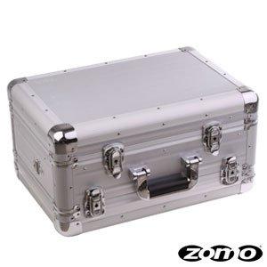 Zomo Flightcase VC-2 XT - Silber - für Vestax, Omnitronic, Hercules DJ Controller, Laptop und Zubehör