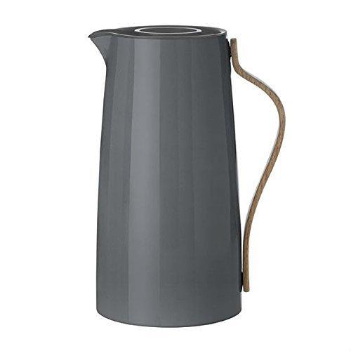 Stelton Emma Kaffee 1,2 l. -grau Isolierkanne, Kunststoff, 15.5 x 13 x 26 cm