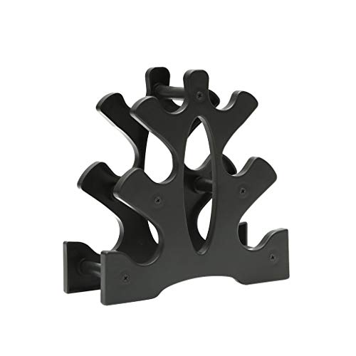 Printasaurus Storage Rack Dumbbell Rack Stand 3 Tier Dumbbells Hand Weights Sets Holds 30 Pounds Home & Garden Tools & Home Improvement