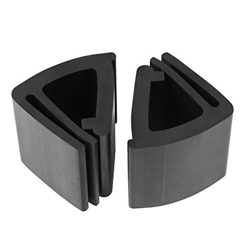 """LEAPGO Golf Cart Windshield Retaining Clips for EZGO Replaces Club Car 102005801 1020058-01 Yamaha Fit 1""""x1"""" Tube of Golf Carts (2 PCS)"""