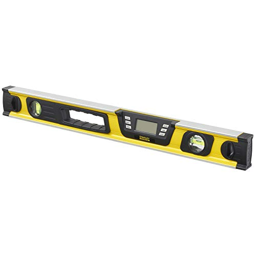 Stanley FatMax Digitale waterpas, 60 cm, 0-42-065, hellingsmeter, hoge nauwkeurigheid en meetbereik, meting in graden, percentage - mm/m