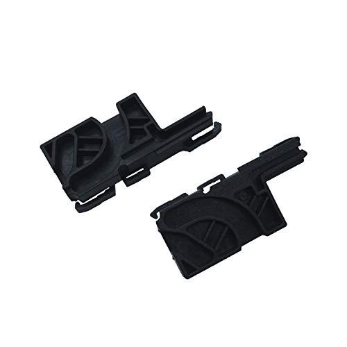 Mrfmh Autozubehör Panorama-Dachreparatur-Halterung Clip/Fit für Audi/Fit für Volkswagen/Fit für Skoda/Fit für Sitz 5G6877307B, 8V3877049 (Color : Black)