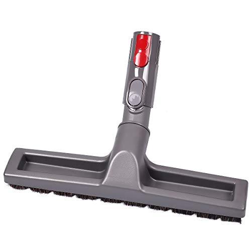 KEEPOW Flexible Parkettbürste, Bürste passend für Dyson Staubsauger (mit Adapter für V7 V8 V10 und V11)