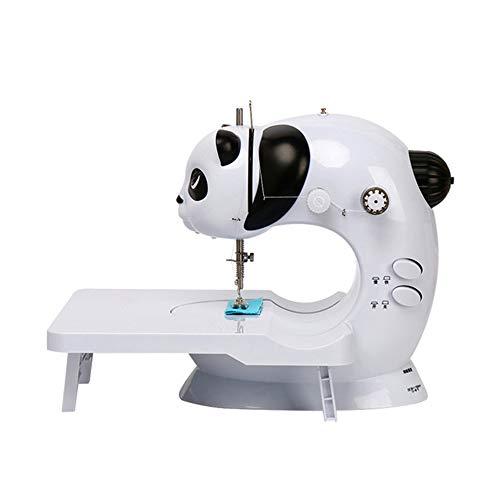 Mini máquina de Coser, Máquina portátil de Hogares de Costura de múltiples Funciones Máquina de Coser con Led Lámpara Funcionalidad, Simple operación, operación Conveniente