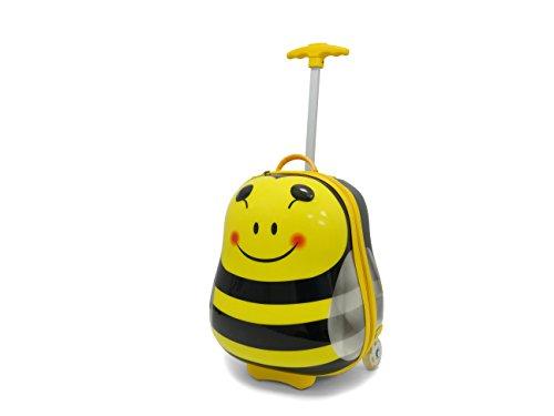 Kids Travel 2 Bee Suitcase Children's Luggage, 39 cm, 11.0 Liters, Yellow