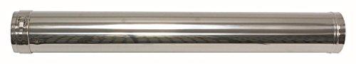 Vaillant 0020042754 Rallonge 80/125 mm, PP/Acier inoxydable 1000 mm