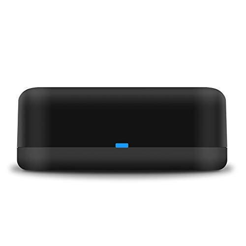 Snowsound Control Remoto Inteligente IR, RM Mini WiFi Control Remoto Universal IR Tuya Aplicación para Control IR con Cable Tipo C Compatible con Alexa y Google Home para su hogar Inteligente