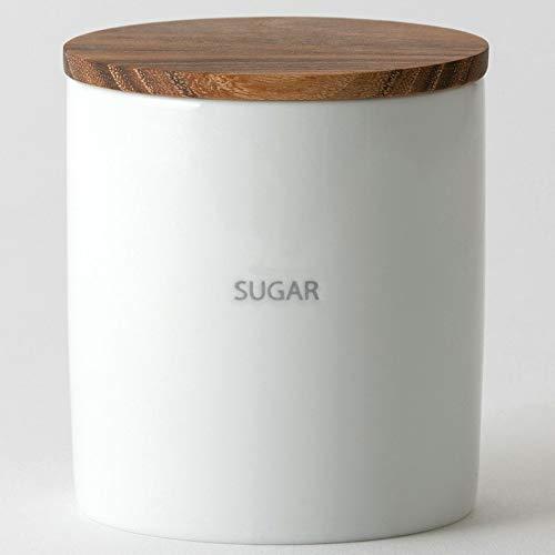 LOLO 保存容器 キャニスター BS08 日本製 陶器 SALIU チーク (SUGAR)