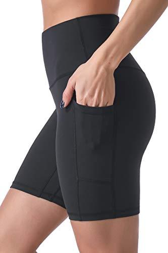 Sunzel 8' / 5' Biker Shorts for Women with Pockets, High Waisted Yoga Workout Shorts