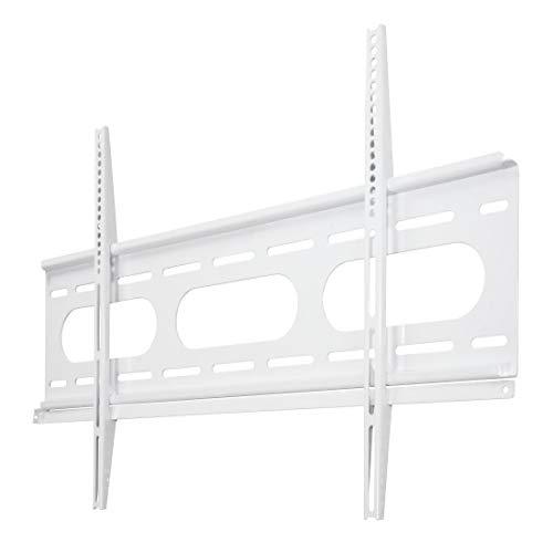 Hama TV-Wandhalterung (für Fernseher von 37 bis 90 Zoll (94 cm bis 229 cm Bildschirmdiagonale), inkl. Fischer Dübel, VESA bis 800 x 500, Wandabstand nur 2,5 cm, max. 75 kg) weiß
