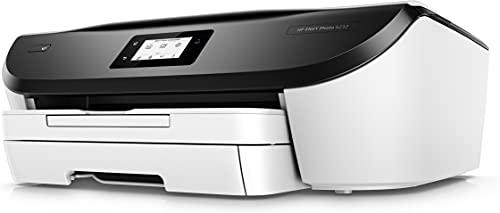HP Envy Photo 6232 – Impresora multifunción inalámbrica, Tinta, Wi-Fi, copiar, escanear, impresión a Doble Cara, 4800 x 1200 PPP, Color Blanco y Negro