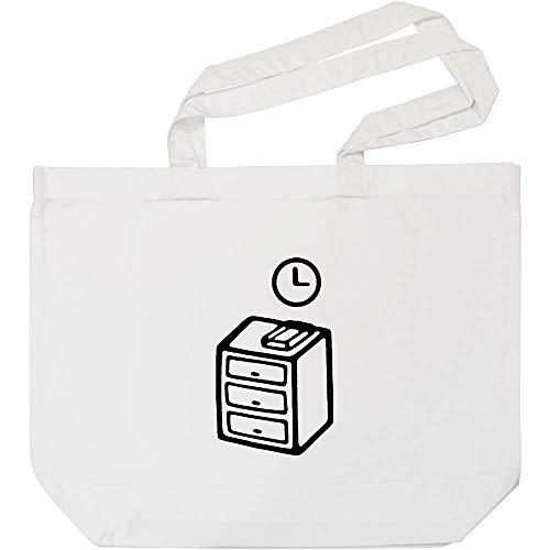 Azeeda 'Aktenschrank' Weiße Einkaufstasche (BG00031720)