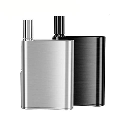 電子タバコ/ベイプ/Vape 【PODデバイス】Eleaf iCare Flask Pod System Kit 520mAh 内蔵 1ml 容量 超高性能 超小型スターターキット (Silver シルバー)