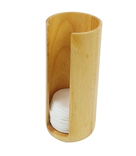 Opportunity 42b13041100-Spender Baumwolle Festplatte Holz beige 7x 7x 17cm