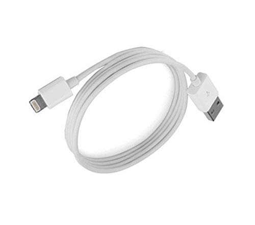 Garsaco Cable iPhone (Lighting) A USB 1 Metro Gsc 1401649, Blanco