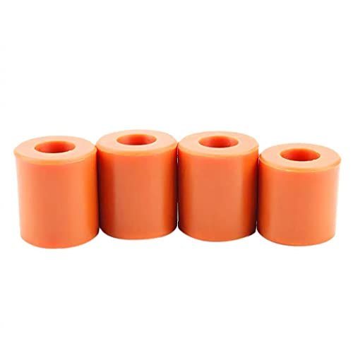 ODOUKEY-TOOLS3D Impresora Cama Soportes de Silicona sólida Columna Heatbed Piezas semillero de nivelación 4PCS Resistentes al Calor