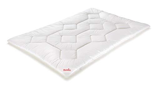 PARADIES Prima Bio - Bettdecke 155x220 cm - Ganzjahresdecke, Öko-Tex Zertifiziert Standard 100 Klasse 1, medizinisch getestet, Atmungsaktive Ganzjahresbettdecke, Schlafdecke
