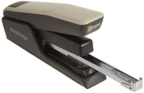 Bostitch EZ Squeeze 50 Sheet Desktop Stapler, Reduced Effort, Black (B850-BLK) Photo #3