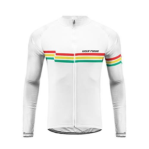 Uglyfrog 2018-2019 Neu Frühling Herren Lange Ärmel Cycling Jersey Männer Radfahren Trikots & Shirts Atmungsaktiv Mode Bunt Sport Bekleidung HHSL02