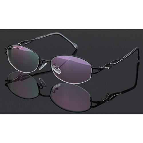 ZHANGYY Gafas de Lectura fotocromáticas progresivas de Enfoque múltiple de transición: protección contra la radiación/protección UV, Cambio de Color al Aire Libre, para Gafas de Sol para