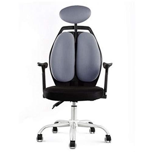 Gaming Chair BLTLYX Draaistoel Racing Lift Synthetisch Gaming Stoelen Internetcafés Computerstoel Liggend Huishoudelijke stoel Zoals afgebeeld 3 grijs