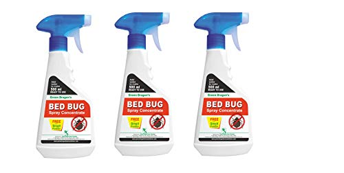green dragon's Bed Bug Spray Concentrate (Light Milky, 1.5L) - Pack of 3