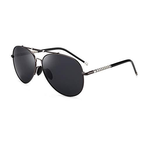 WHSS Gafas de Sol Gafas De Sol Polarizadas for Hombres De Color Negro Gafas De Sol for Hombres Día Y Noche Película