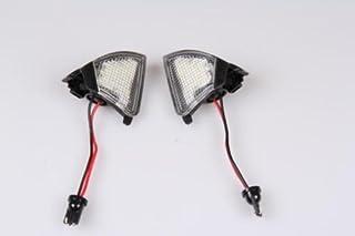 2x TOP LED XENON Umfeldbeleuchtung Aussenspiegel Leuchte WEIß (7411)
