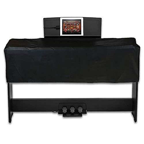 MILECN Universale Tastiera e Pianoforte Digitale Copertura Antipolvere per 88 Tasti, Cuoio Impermeabile dell unità di Elaborazione, Cerniera Protezione Copertura Antipolvere,B