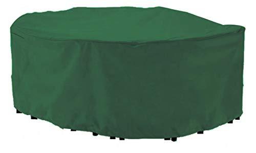 HBCOLLECTION Deluxe Polyestere Copri Telo di Copertura per sedie e Tavolo Rettangolare 270cm