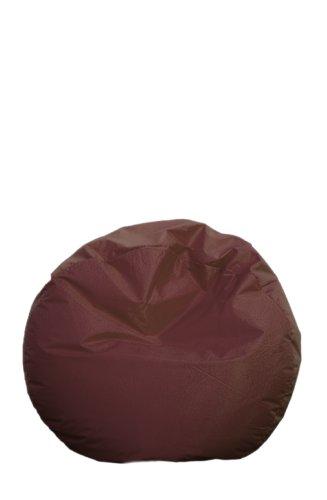 Just Relax 119,4 cm Grand Salon Rond, Tissu, Marron, Taille L