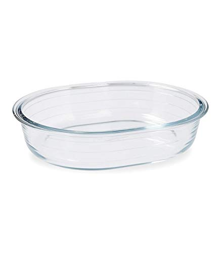 Pyrex Clear Oval Roaster 25Cm