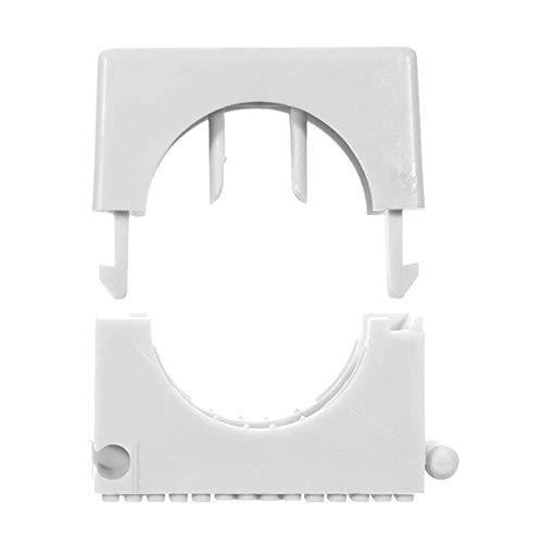 Pêcheurs 68032 Sch Collier pour sans halogène, nylon, diamètre : 23 mm – 32 mm, gris (Lot de 25)