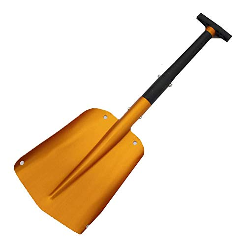 Amazing Deal RANRANJJ Aluminum Lightweight Snow Shovel for Car Emergency, Durable Compact Collapsibl...