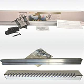 Light Rail 3.5 IntelliDrive Kit Motor with Rail Plus RoboStik, Robotic Grow Light Mover Genuine Solidly Made in USA