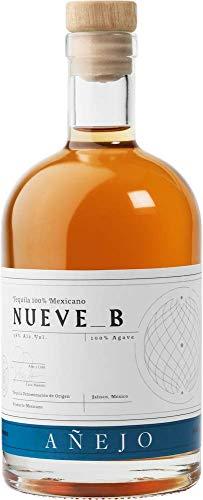 Tequila Nueve B Añejo - Premium Tequila aus 100% blauer Weber Agave - 38% vol. 0,7l Flasche