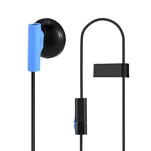 Diyeeni Gaming-oordopjes met microfoon voor de Playstation PS4-console-controller, 3,5 mm gaming hoofdtelefoon met ruisonderdrukking en stereobass voor de mobiele telefoon, pc-laptop
