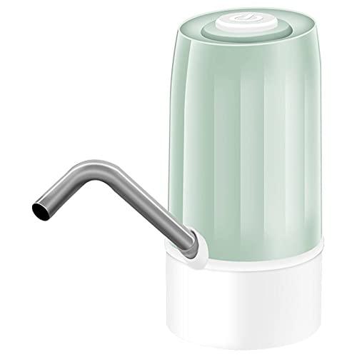N\C Dispensador de Agua Bomba de Agua portátil eléctrica dispensador de Agua galón Interruptor de Botella para Beber Carga silenciosa Toque 19 litros