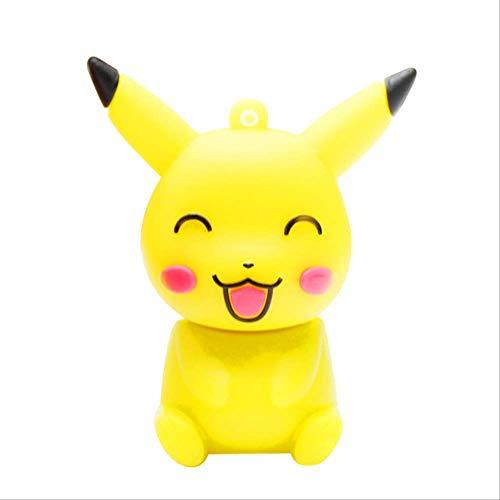 Clé USB Mémoire Flash Drive Cadeaux Mignon Haute Vitesse Manga Dessin animé Pokemon Set Pen Pink Pikachu Figure e Disk U Storage Devices Creative