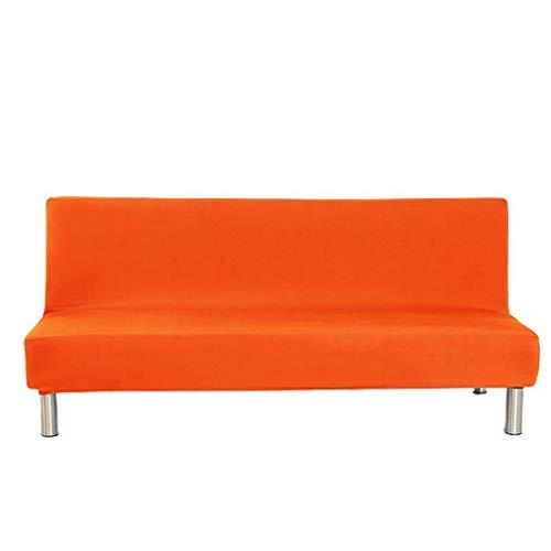 Hanone Home Sofabezug Voll inklusive Sofabezug ohne Armlehne Einfarbiger SofabezugOrange