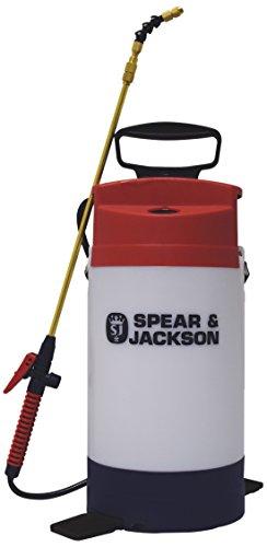 Spear & Jackson Pulverizador a Presión de Productos Químicos, 5LPAPSWOOD, 18x18x45 cm