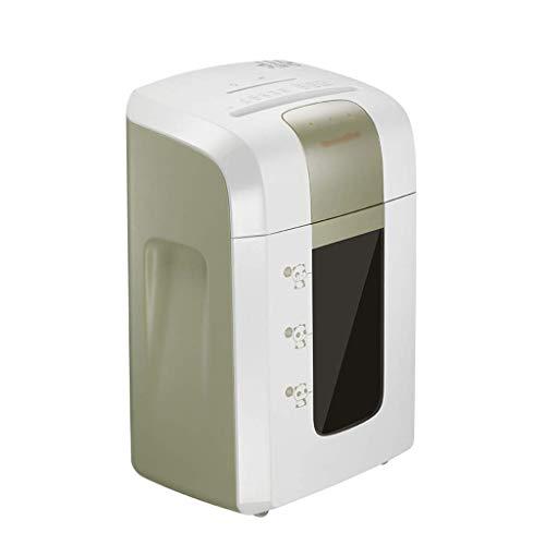SCDFDJ Aktenvernichter, Papierkarte Brecher for 40 Minuten 4 Geheimhaltungsstufen Büroelektronik (Farbe: weiß, Größe: 34,5 * 24,1 * 50,8 cm)