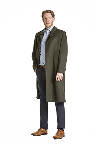 Tirol Traditional Hunting Style Austrian Loden Wool Overcoat