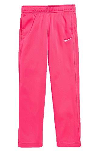 Nike Little Girls Therma Fit Training Fleece Sweat Pants Size 6, 6X (Hyper Pink, 6X)