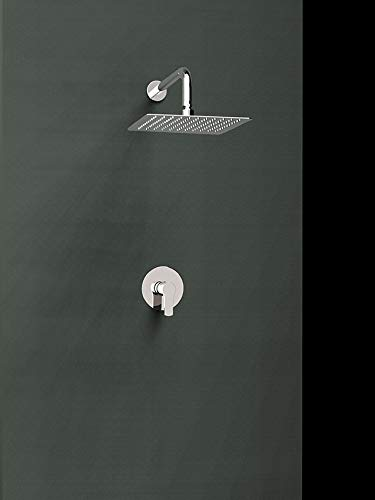 Ramón Soler k1818014 kit mitigeur Encastré 1 voie avec Brumisateur ABS Mural 225 X. modèle Titanium, chrome