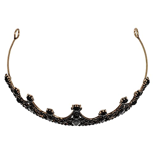 Lurrose Barroco Barroco Liga de Strass Coroa De Noiva Prom Coroas Tiaras Da Coroa Da Rainha para As Mulheres