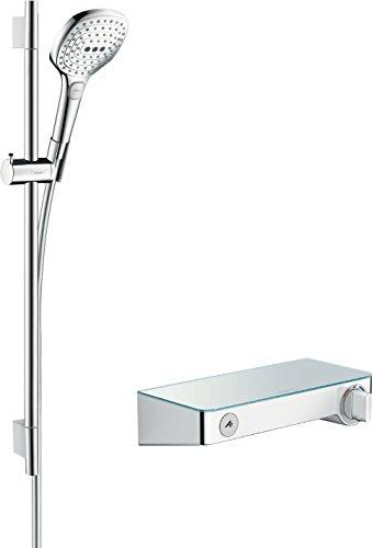 hansgrohe Raindance Select E 120 Thermostatset 0,65m, 3 Strahlarten, Chrom