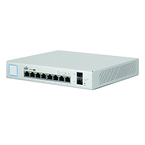 Ubiquiti Networks Networks UniFi Switch 8-Port 150 Watts, White